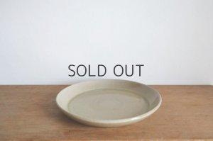 画像1: ネギシ製陶/ 6寸平皿(ナチュラル)