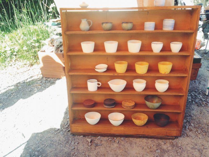 益子の陶器市へ