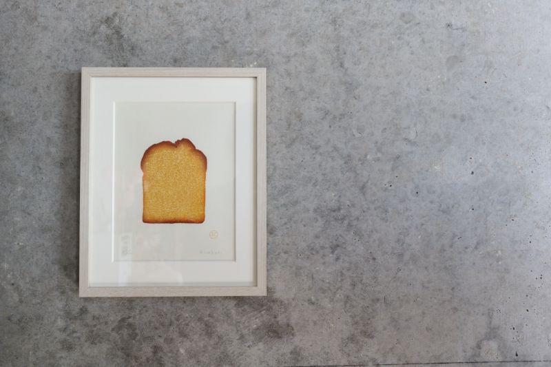 彦坂木版工房 「ブランデーケーキ」について